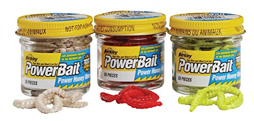 BERKLEY POWERBAIT HONEY W. AGLIO W.