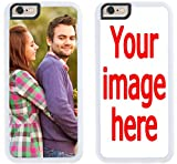 Custom iPhone 8 Plus Cases iPhone Cover iZERCASE [Personalized Custom Picture CASE] Make Your Own Phone Case (White, iPhone 8 Plus)