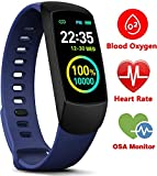 MorePro Slim Kids Fitness Tracker with Heat Rate Monitor, O2/HRV Activity Tracker with Waterproof Pedometer, Smart Watch Sleep Monitor, Step & Calorie Counter for Women Men