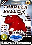 Thunder bull 9X Pill 7 Days Long Action Longer and Harder Erection 100% Authentic (2Pills)
