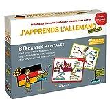 J'apprends l'allemand autrement niveau débutant: 80 cartes mentales pour apprendre...