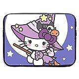 Funda para portátil de 13 a 15 pulgadas, diseño de bruja de Hello Kitty