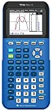 Texas Instruments 84PLCE/TBL/1L1/X TI-84 Plus CE Graphing Calculator, Bionic Blue