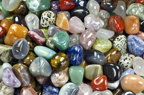 Hypnotic Gems Materials: 2 lbs Medium Brazilian and African...