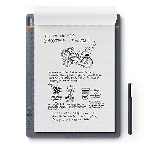 Wacom CDS-810S Bamboo Slate Digitalizzatore di Appunti e Disegni su Carta, Compatibile con...
