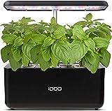 iDoo Sistema de Cultivo hidropnico, Jardinera de Interior de Hierbas con luz de Crecimiento LED, Smart Garden con 7 vainas, Altura Ajustable, Kits de Germinacin Inteligente para Casera, ID-IG201