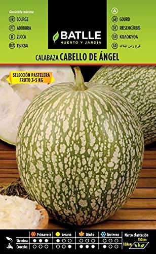 Semillas Hortícolas - Calabaza Cabello de Angel sel. Pastel