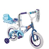 Huffy New 12 Inch Girls Frozen Bike with Sleigh, Blue