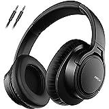 Mpow H7 Bluetooth Kopfhörer over Ear, over Ear Kopfhörer mit Kräftigen Bass Sound, 25 Stunden Spielzeit, Memory Protein Ohrpolster, CVC6.0 Mikrofon Freisprechen für Smartphone PC