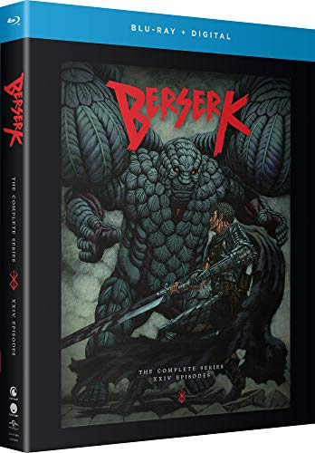 Berserk: complete series (blu-ray/digital)