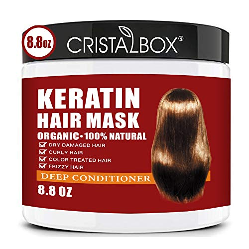Keratin Hair Mask,2021 Deep Repair Damage Hair...