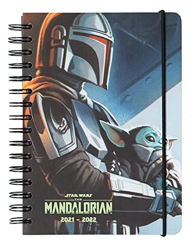 AGENDA A5 Semana Vista Star Wars The Mandalorian by Kalenda