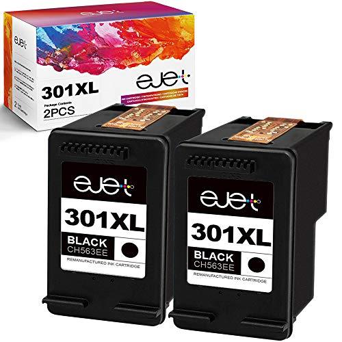 ejet Rigenerato per Cartucce D'inchiostro HP 301 301XL per Envy 4500 5530 4502 Officejet 2622 2620...