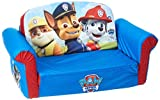 Marshmallow Furniture, Children's 2 in 1 Flip Open Foam Sofa, Nickelodeon Paw Patrol, by Spin Master (Toy)