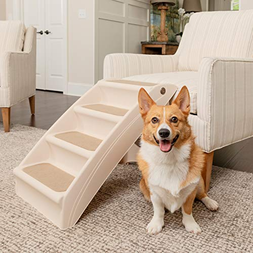 PetSafe Solvit PupStep Plus Pet Stairs, Foldable...