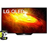 LG OLED65BXPUA 65 inch BX 4K Smart OLED TV with AI ThinQ 2020 Model Bundle with 1 Year Extended...