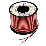Fils électrique en Silicone 2x0.3mm² 22awg 2x30 Mètres Cable fil de...