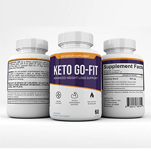 Keto Go-Fit - Advanced Weight Loss Support* - 120 Capsules - 60 Day Supply 5