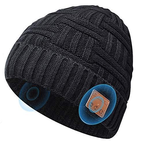 Bluetooth Beanie Hats Gifts For Men Women, Music Hats Beanie...