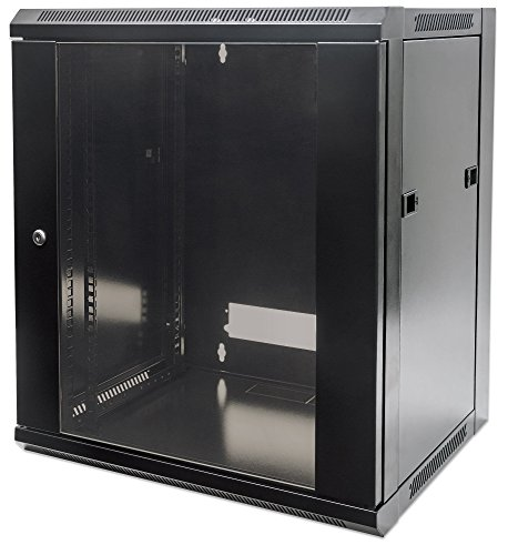 Intellinet 711869 Freestanding rack 60kg Black rack - racks (60 kg, Freestanding rack, 12U, Black,...