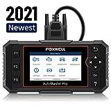 FOXWELL NT614 Elite OBD2 Scanner-ABS/SRS/Transmission/Check Engine Light Code Reader Scan Tool with EPB/Oil Light Reset, Airbag Car Diagnostic Scanner