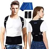 Back Brace Posture Corrector for Men - Medical Posture Brace for Women - Best Adjustable Back Corrector...