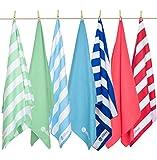 Easy Snorkel Micro Fiber Beach Towel - XL - Sky