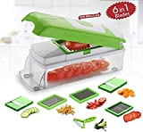Chips pour hachoir à légumes | Trancheuse à aliments 5 lames...
