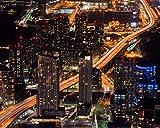 Kpoiuy Paquete De Pintura por NúMero En Lienzo Pintura Al óLeo DIY Noche Ciudad Rascacielos Edificios Cuadros Pintados A Mano del Arte del Colorante De AcríLico para La Sala De Estar
