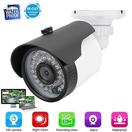 4-in-1 Telecamera Sorveglianza, 1MP CCTV Videocamera di sicurezza analogica ibrida HD - AHD / TVI / CVI ( PAL / NTSC) 720P Telecamera IR-CUT dotata di menu OSD, con 36 luci a infrarossi(NTSC)