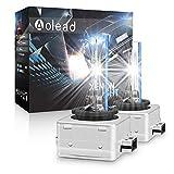 D1S Xenon Ampoules, Xénon HID Lampe de Rechange 12V 35W 8000K, 2 Lampes