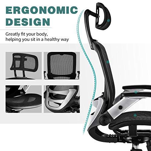 Product Image 6: Gabrylly Ergonomic Mesh Office Chair, High <a href=