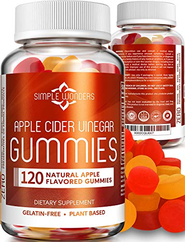Apple Cider Vinegar Gummies (120 ct) - Gummy Alternative to ACV Pills, Capsules, and Tablets - Organic, Raw, and Unfiltered with Mother Supplement for Detox and Cleansing Support - Non GMO 1 - My Weight Loss Today