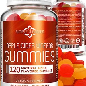 Apple Cider Vinegar Gummies (120 ct) - Gummy Alternative to ACV Pills, Capsules, and Tablets - Organic, Raw, and Unfiltered with Mother Supplement for Detox and Cleansing Support - Non GMO 5 - My Weight Loss Today