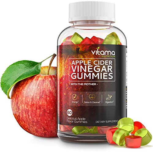 Apple Cider Vinegar Gummies - Delicious Apple Flavored Gummies with The Mother for Immune System - Enzyme, Detox Cleanse and Weight Loss Support, a Great Alternative to Apple Cider Vinegar Capsules 1 - My Weight Loss Today