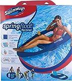SwimWays - 6045228 - Spring Float Recliner - Fauteuil Gonflable de Piscine Semi...