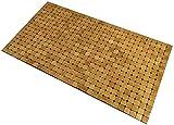 Kos Design Tapis de sol en bambou pour salle de bain, toilettes, chambre à coucher,...