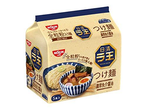 日清 ラ王 つけ麺 濃厚魚介醤油 5食パック 500g