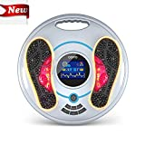 EMS & TENS Electric Foot Massager-FDA Approved Foot Circulation Machine, Foot Energizer-Relieve Feet, Legs & Ankles Pain, 99 Intensity Levels and 25 Different Massage Modes (New)