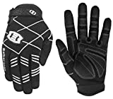 Seibertron F.O.D.G.G 2.0 Ultimate Frisbee Gloves Disc Golf Gloves - Non-Slip Design Consistent Grip Improve Throws Catches in All Conditions Youth Black L