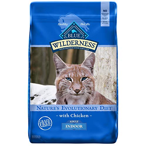 Product Image 1: Blue Buffalo Wilderness High Protein, Natural Adult Indoor Dry Cat Food, Chicken 11-Lb