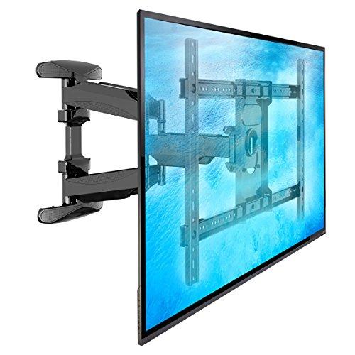 L600- Supporto TV da parete, girevole per TV LED LCD e PLASMA 114-178 cm (45' - 70') con un peso...