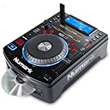 Numark NDX500   Stand Alone USB / CD Player and Software Controller with Touch-Sensitive Jog Wheel, Audio Interface, Long Throw Pitch Controls and Pre-mapped for Deep Integration With Serato DJ