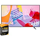 Samsung QN50Q60TAFXZA 50 inch Class Q60T QLED 4K UHD HDR Smart TV 2020 Bundle with 1 Year Extended Warranty