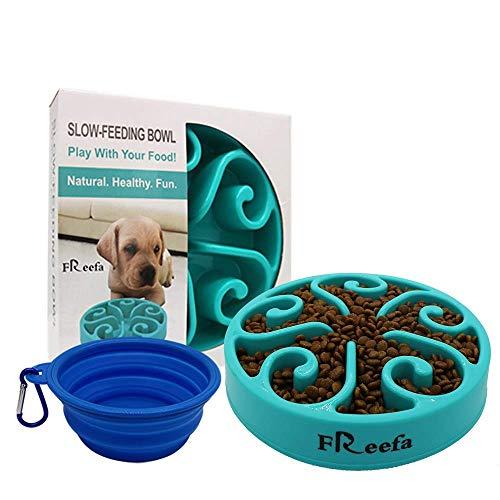 Freefa Slow Feeder Dog Bowl Bloat Stop Dog Food...