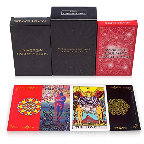 MandAlimited Tarot Cards Deck and Manifest - Soul Mate...