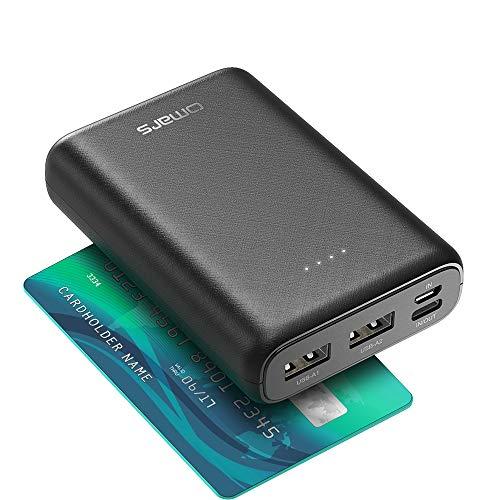 Omars Power Bank 10000mAh, piccolo e leggero,...