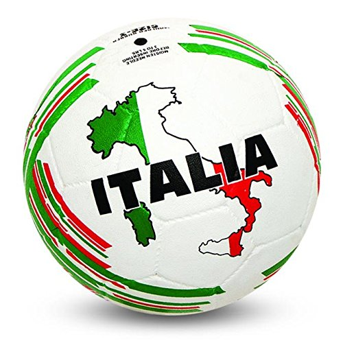 Nivia Country Colour Rubber Football ( Size: 5, Color : White/Green, Ideal for : Training/Match )