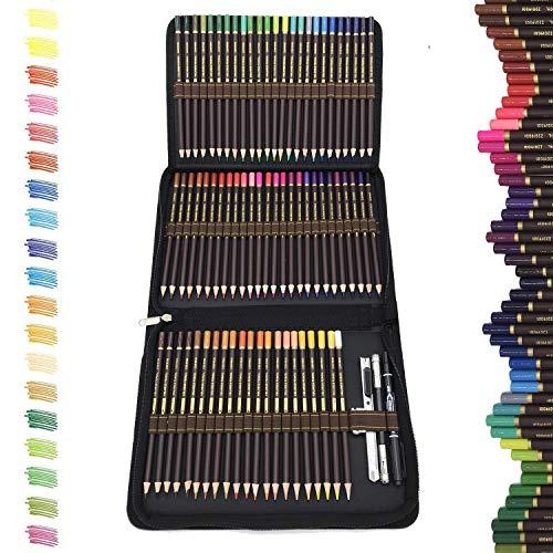 Matite Colorate Professionali da Disegno,migliori matite colorate kit da disegno,72 matite Colorate...