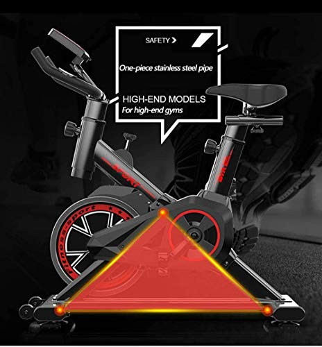 YFFSS Exercise Bikes, Ultra-Quiet Indoor Exercise Bike, Spinning Bike, Fitness Exercise Bike, Professional Indoor Weight-Loss Exercise Equipment and Adjustable Handlebars and Seats 4